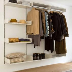 Подвесная система хранения вещей в прихожей