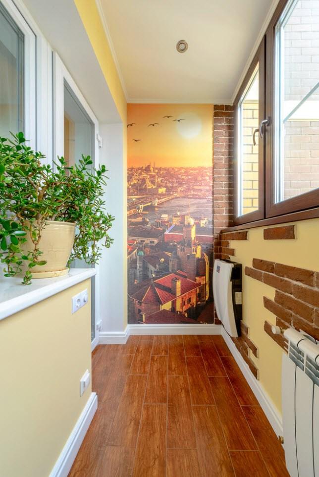 такому способы отделки стен балкона фото крайней мере