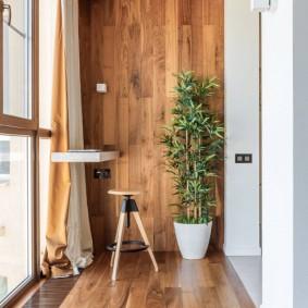 Панорамное остекление лоджии в квартире
