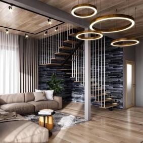 Светодиодные светильники круглой формы