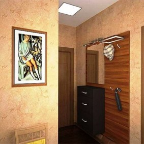 Дизайн прихожей хрущевки в кирпичном доме
