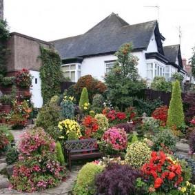 Ландшафтный дизайн сада в английском стиле