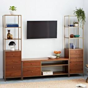 Компактная мебель для небольшой гостиной