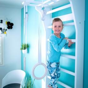 Шведская стенка для ребенка дошкольника