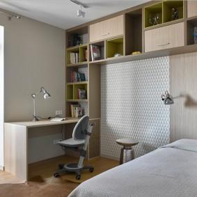 Уютная комната для ребенка школьника