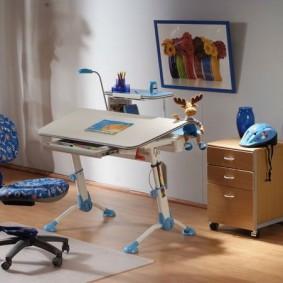 Мебель-трансформер для детей школьного возраста