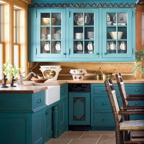 Кухонная мебель в стиле прованса