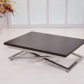 Журнальный столик раскладной конструкции