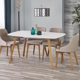 Обеденная мебель в гостиную современного стиля