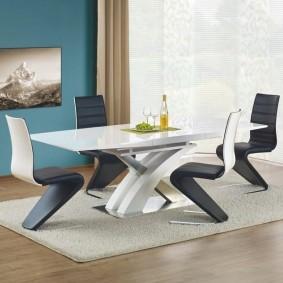 Обеденная мебель в стиле минимализма