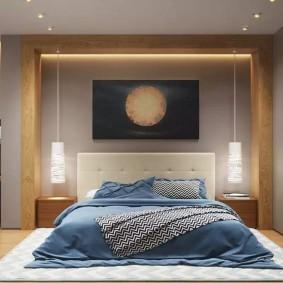 Декоративная подсветка деревянной балки