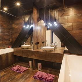 Оригинальный декр небольшой ванной