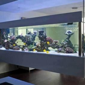 Подвесной аквариум в японском стиле