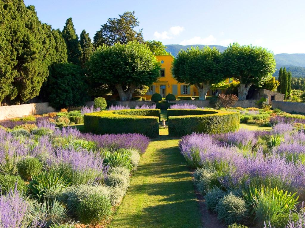 французский дизайн сада фото