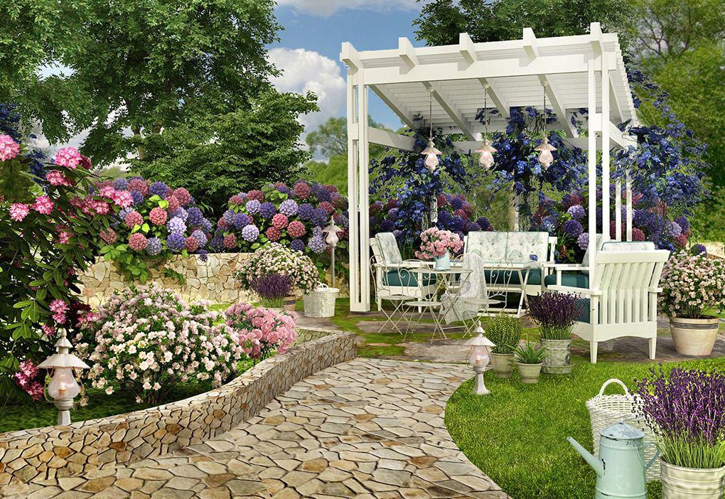 французский дизайн сада
