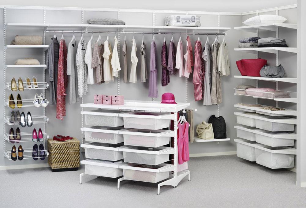 сетчатые гардеробные системы дизайн