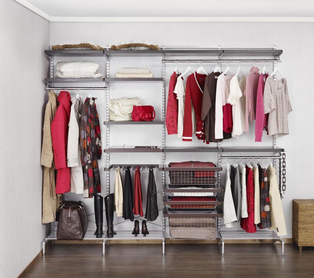 сетчатые гардеробные системы фото дизайн