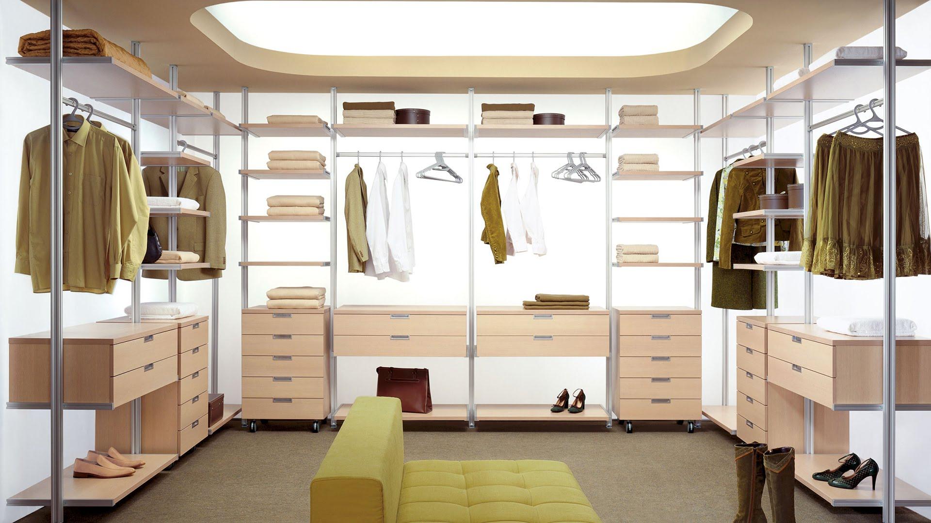 гардеробные системы фото