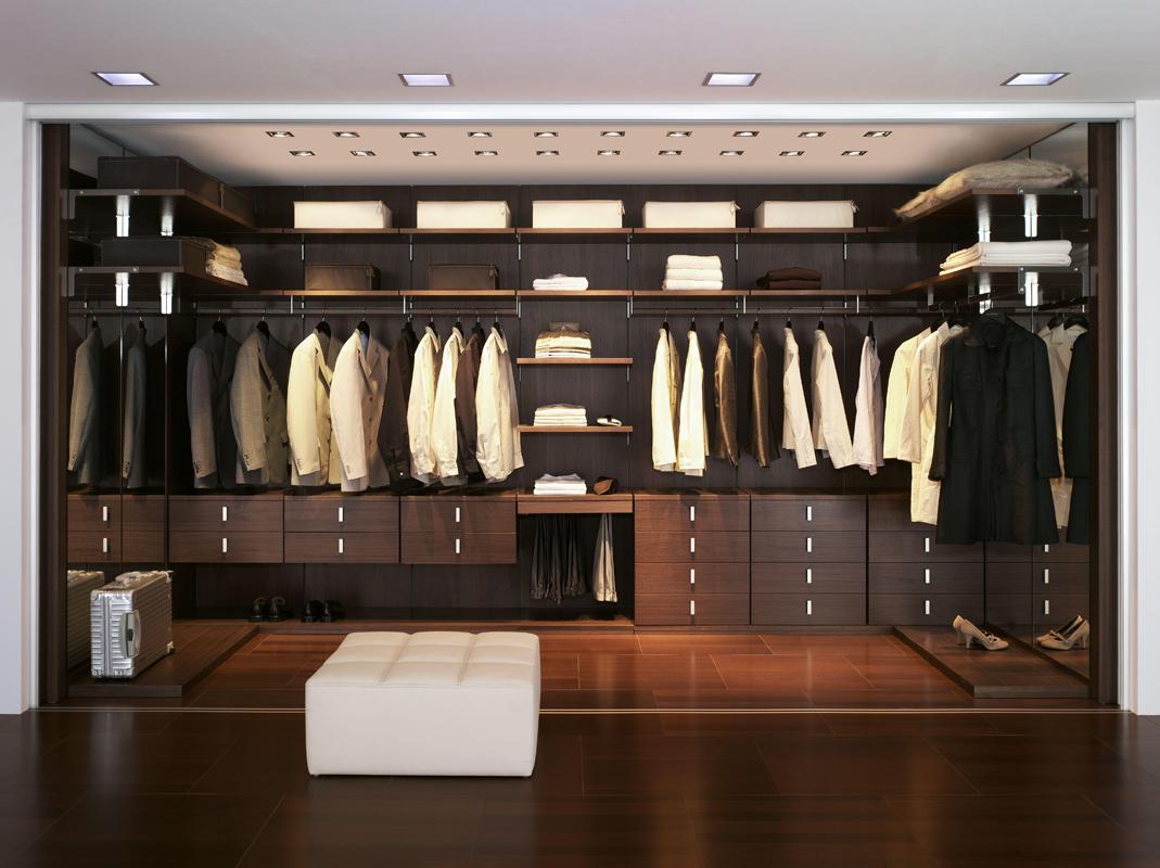 гардеробные системы из дерева