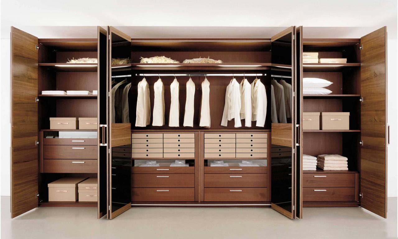 корпусные гардеробные системы