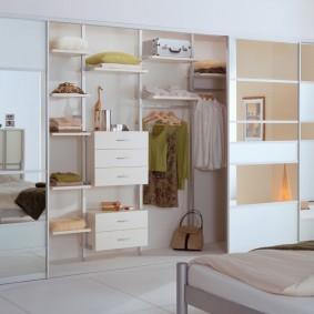 гардеробные системы в интерьере фото декор