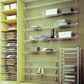 гардеробные системы в интерьере фото декора
