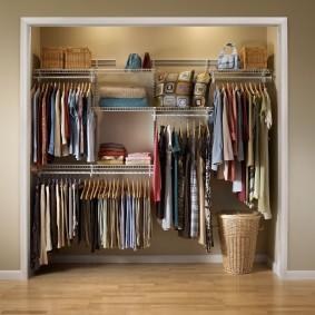 гардеробные системы в интерьере идеи декор