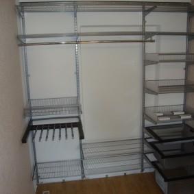 гардеробные системы в интерьере фото оформление