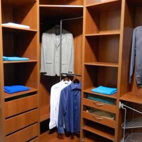 гардеробные системы в интерьере фото оформления