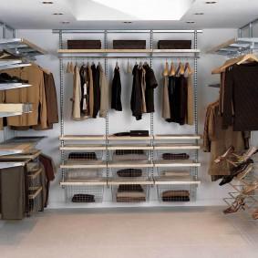 гардеробные системы в интерьере идеи оформление