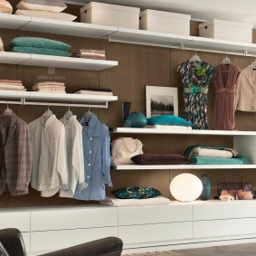 гардеробные системы в интерьере идеи оформления