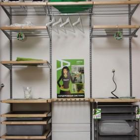 гардеробные системы в интерьере варианты идеи