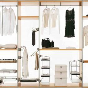 гардеробные системы в интерьере идеи вариантов