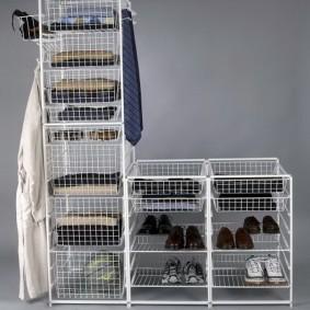 гардеробные системы в интерьере фото видов