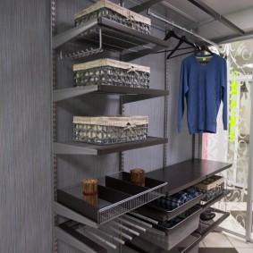гардеробные системы в интерьере виды идеи