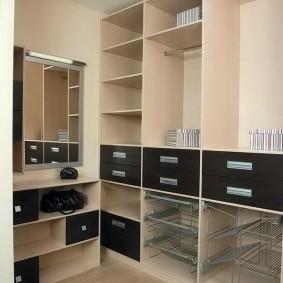 гардеробные системы в интерьере обзор