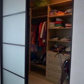 гардеробные системы в интерьере виды декора