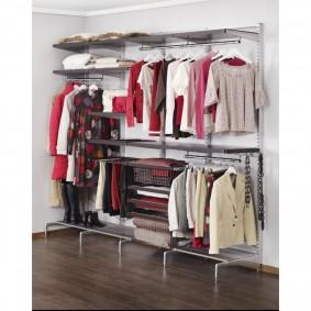 гардеробные системы в интерьере виды оформления