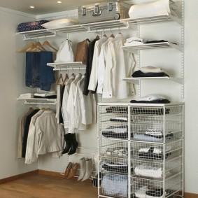 гардеробные системы в интерьере варианты дизайна