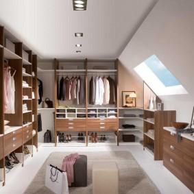 гардеробные системы в интерьере фото обзор