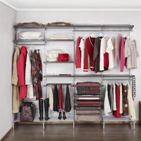 гардеробные системы в интерьере обзор идеи