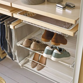 гардеробные системы в интерьере дизайн