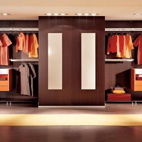 гардеробные системы в интерьере дизайн фото