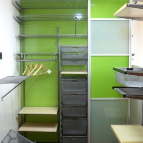 гардеробные системы в интерьере дизайн идеи