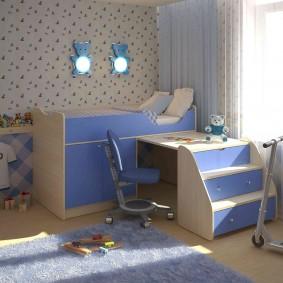 гарнитур в детской комнате