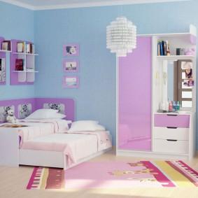 гарнитур в детской комнате фото декор