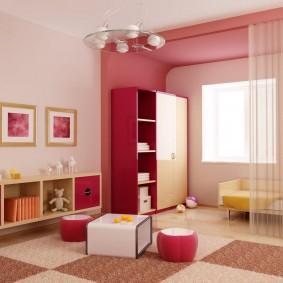 гарнитур в детской комнате декор идеи