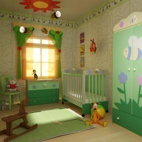 гарнитур в детской комнате идеи декора