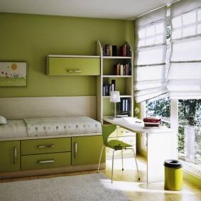 гарнитур в детской комнате идеи интерьер