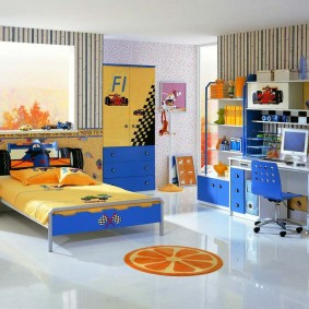 гарнитур в детской комнате оформление фото